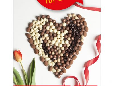 Am 14. Februar ist Valentinstag. Überraschen Sie Ihre LIEBE mit Aufmerksamkeiten aus dem Weltladen.