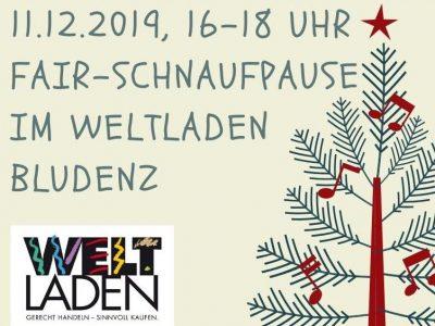 Einladung zur Fair-Schnaufpause am 11.12.